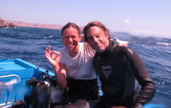 Sailing and Diving with Jade 12